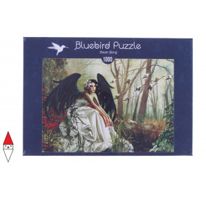 , , , PUZZLE GRAFICA BLUEBIRD FANTASY SWAN SONG 1000 PZ