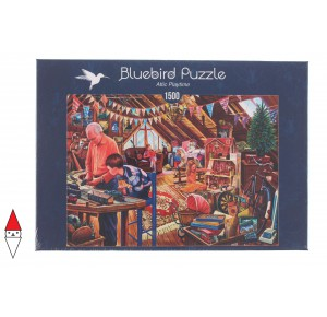 , , , PUZZLE BLUEBIRD INTERNI ATTIC PLAYTIME 1500 PZ
