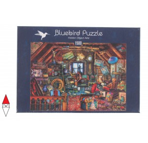 , , , PUZZLE BLUEBIRD INTERNI HIDDEN OBJECT ATTIC 1500 PZ