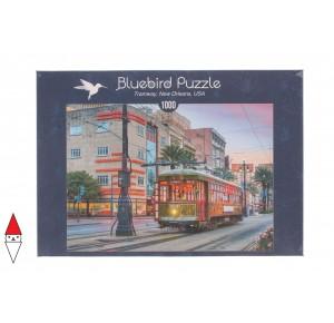 , , , PUZZLE PAESAGGI BLUEBIRD CITTA TRAMWAY NEW ORLEANS USA 1000 PZ