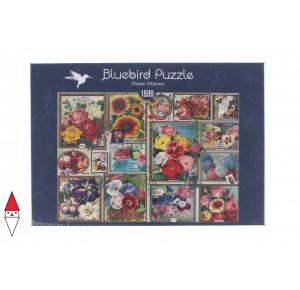 , , , PUZZLE OGGETTI BLUEBIRD FIORI E GIARDINI FLOWER PICTURES 1500 PZ