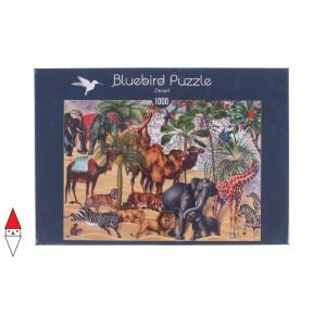 , , , PUZZLE ANIMALI BLUEBIRD ANIMALI VARI DESERT 70476