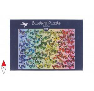 , , , PUZZLE ANIMALI BLUEBIRD FARFALLE BUTTERFLIES 70485