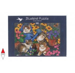 , , , PUZZLE ANIMALI BLUEBIRD GATTI GARDEN MISCHIEF 70489