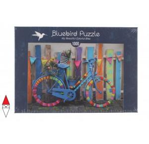 , , , PUZZLE MEZZI DI TRASPORTO BLUEBIRD MY BEAUTIFUL COLORFUL BIKE 1000 PZ