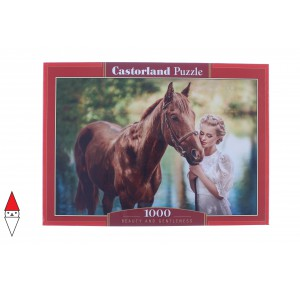, , , PUZZLE ANIMALI CASTORLAND CAVALLI BEAUTY AND GENTLENESS 1000 PZ