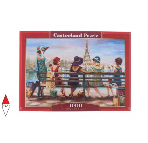 , , , PUZZLE GRAFICA CASTORLAND CITTA GIRLS DAY OUT 1000 PZ