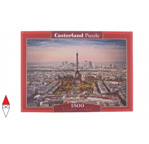 , , , PUZZLE PAESAGGI CASTORLAND CITTA CITYSCAPE OF PARIS 1500 PZ