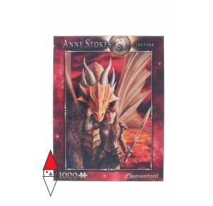 , , , PUZZLE TEMATICO CLEMENTONI FANTASY INNER STRENGHT ANNE STOKES 1000 PZ