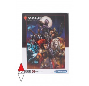 , , , PUZZLE TEMATICO CLEMENTONI FANTASY MAGIC THE GATHERING 1000 PZ