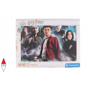 , , , PUZZLE TEMATICO CLEMENTONI FILM E SERIE TV HARRY POTTER 1000 PZ
