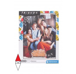 , , , PUZZLE TEMATICO CLEMENTONI FILM E SERIE TV FRIENDS 1000 PZ