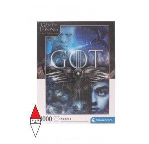, , , PUZZLE TEMATICO CLEMENTONI FILM E SERIE TV GAME OF THRONES 1000 PZ