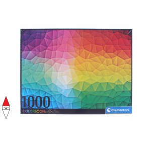 , , , PUZZLE TEMATICO CLEMENTONI COLORI COLORBOOM COLLECTION 1000 PZ