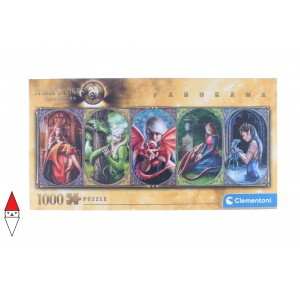 , , , PUZZLE TEMATICO CLEMENTONI FANTASY DRAGON FRIENDSHIP PANORAMA 1000 PZ