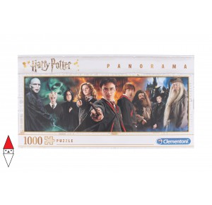 , , , PUZZLE TEMATICO CLEMENTONI FILM E SERIE TV HARRY POTTER PANORAMA 1000 PZ