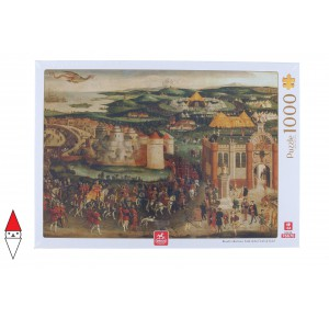 , , , PUZZLE ARTE DEICO ROYAL COLLECTION - FIELD OF THE CLOTH OF GOLD 1000 PZ