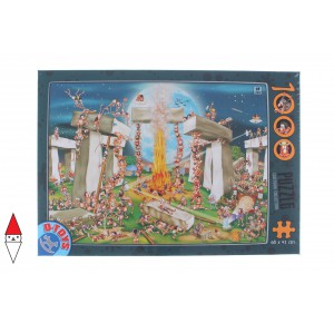 , , , PUZZLE GRAFICA DTOYS FUMETTI CARTOON COLLECTION STONEHENGE 1000 PZ