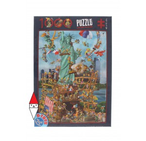 , , , PUZZLE GRAFICA DTOYS FUMETTI CARTOON COLLECTION NEW YORK 1000 PZ