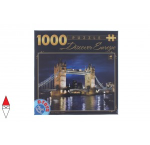 , , , PUZZLE EDIFICI DTOYS PONTI TOWER BRIDGE LONDON 1000 PZ