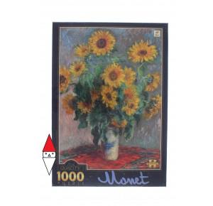 DTOYS, , , PUZZLE ARTE DTOYS IMPRESSIONISMO MONET BOUQUET OF SUNFLOWERS 1000 PZ