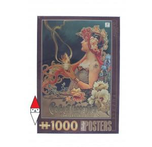 , , , PUZZLE GRAFICA DTOYS STAMPE VINTAGE CHOCOLAT CARPENTIER 1000 PZ