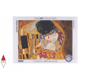 , , , PUZZLE ARTE EUROGRAPHICS PITTURA 1900 KLIMT THE KISS 1000 PZ