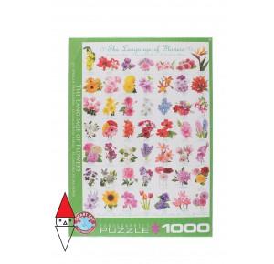 EUROGRAPHICS, , , PUZZLE TEMATICO EUROGRAPHICS FIORI E GIARDINI THE LANGUAGE OF FLOWERS 1000 PZ