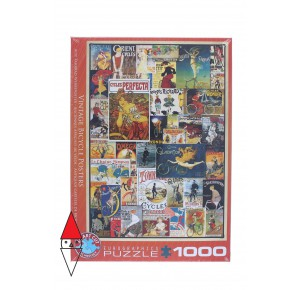 EUROGRAPHICS, , , PUZZLE GRAFICA EUROGRAPHICS STAMPE VINTAGE VINTAGE BICYCLE POSTERS 1000 PZ