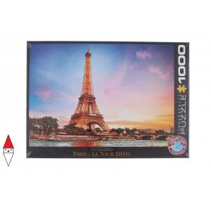 EUROGRAPHICS, , , PUZZLE PAESAGGI EUROGRAPHICS CITTA PARIS LA TOUR EIFFEL 1000 PZ