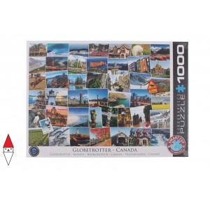 EUROGRAPHICS, , , PUZZLE PAESAGGI EUROGRAPHICS COLLAGE GLOBETROTTER CANADA 1000 PZ