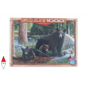 , , , PUZZLE ANIMALI EUROGRAPHICS ORSI NEW DISCOVERIES BY KEVIN DANIEL 1000 PZ