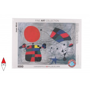 , , , PUZZLE ARTE EUROGRAPHICS THE SMILE OF THE FLAMBOYANT WINGS MIRO 1000 PZ