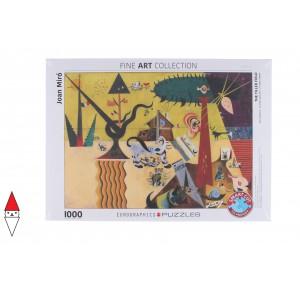 , , , PUZZLE ARTE EUROGRAPHICS PITTURA 1900 THE TILLED FIELD MIRO 1000 PZ