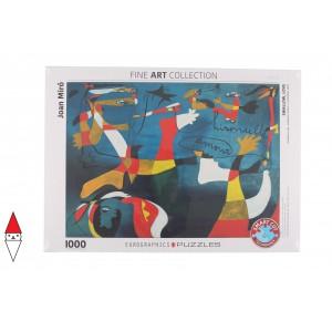 , , , PUZZLE ARTE EUROGRAPHICS PITTURA 1900 SWALLOW LOVE MIRO 1000 PZ
