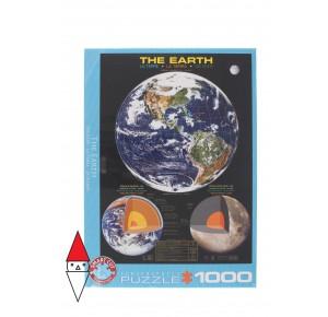 , , , PUZZLE TEMATICO EUROGRAPHICS NATURA E SCIENZA THE EARTH 1000 PZ