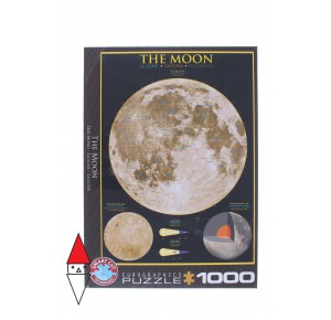 , , , PUZZLE TEMATICO EUROGRAPHICS THE MOON 1000 PZ
