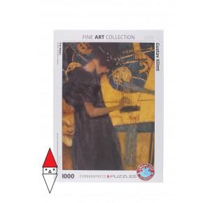 EUROGRAPHICS, , , PUZZLE ARTE EUROGRAPHICS PITTURA 1900 THE MUSIC BY GUSTAV KLIMT 1000 PZ