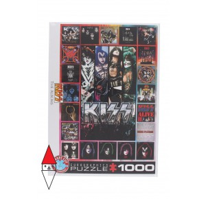 , , , PUZZLE TEMATICO EUROGRAPHICS MUSICA KISS THE ALBUMS 1000 PZ