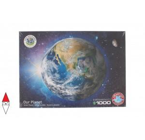 , , , PUZZLE TEMATICO EUROGRAPHICS SPAZIO SAVE THE PLANET! THE EARTH 1000 PZ