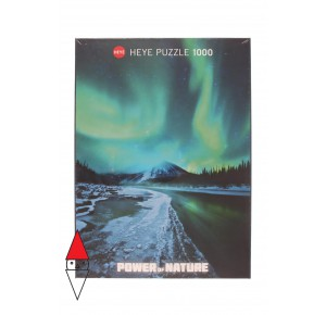 , , , PUZZLE PAESAGGI HEYE AURORA BOREALE POWER OF NATURE NORTHERN LIGHTS 1000 PZ