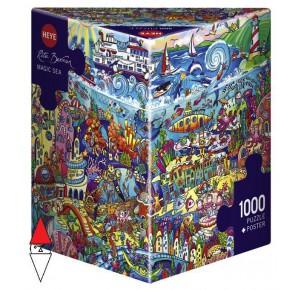, , , PUZZLE GRAFICA HEYE FUMETTI MAGIC SEA BERMAN 1000 PZ
