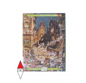 , , , PUZZLE GRAFICA HEYE FUMETTI BY NIGHT ROMANTIC TOWN 1000 PZ
