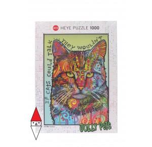 , , , PUZZLE ANIMALI HEYE GATTI IF CATS COULD TALK 1000 PZ