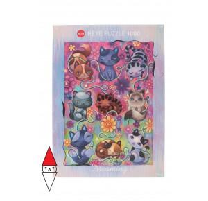 , , , PUZZLE GRAFICA HEYE GATTI KITTY CATS DREAMING 1000 PZ