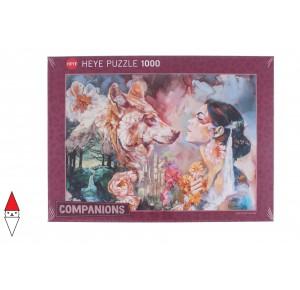 , , , PUZZLE GRAFICA HEYE FANTASY COMPANIONS SHARED RIVER 1000 PZ