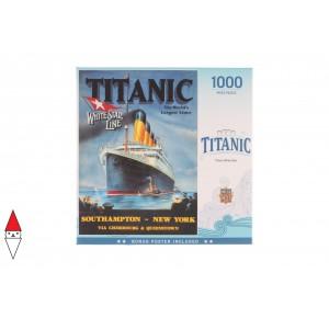 , , , PUZZLE GRAFICA MASTERPIECES VINTAGE TITANIC WHITE STAR LINE 1000 PZ
