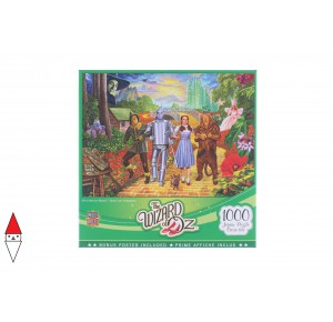 , , , PUZZLE GRAFICA MASTERPIECES THE WIZARD OF OZ - OFF TO SEE THE WIZARD 1000 PZ