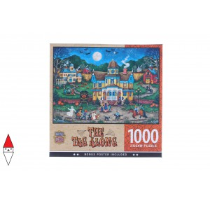 , , , PUZZLE TEMATICO MASTERPIECES HALLOWEEN HALLOWEEN THE TAG ALONG 1000 PZ
