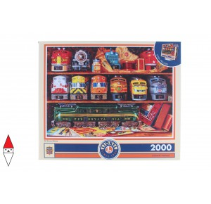 , , , PUZZLE OGGETTI MASTERPIECES TRENI WELL STOCKED SHELVES 2000 PZ
